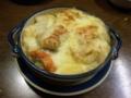 鮭とかぶの豆乳グラタン