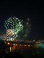 [カナダ・北米旅行]ナイアガラの滝 花火