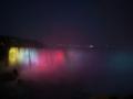 [カナダ・北米旅行]ナイアガラの滝 ライトアップ