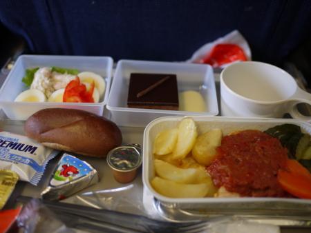 SAS機内食