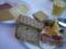 オスロでの朝食。いろんなチーズ。山羊のブラウンチーズが美味。