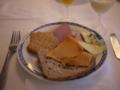 [北欧旅行]ラルダールの朝食。山羊のブラウンチーズがお気に入り。