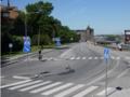 [北欧旅行]ストックホルム 道路標識いっぱい