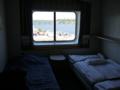 [北欧旅行]シリヤライン Aクラス海側2人部屋