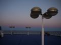 [北欧旅行]シリヤライン 日没時の東の空