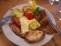 [北欧旅行]シリヤラインの朝食