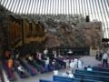 [北欧旅行]ヘルシンキ テンペリアウキオ教会