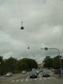 [北欧旅行]コペンハーゲン 街灯は吊り下げ式