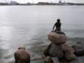 [北欧旅行]コペンハーゲン 人魚の像