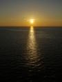 [北欧旅行]シリヤラインからの日没