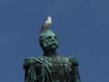 [北欧旅行]ヘルシンキ大聖堂の偉い人