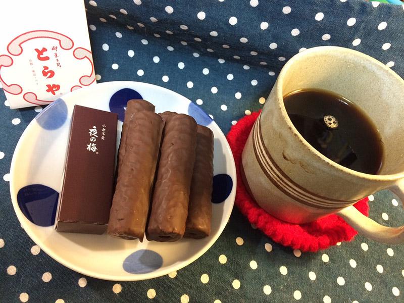 スイーツとコーヒーの写真