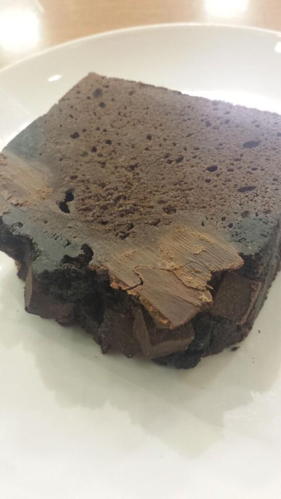 スタバチョコケーキ