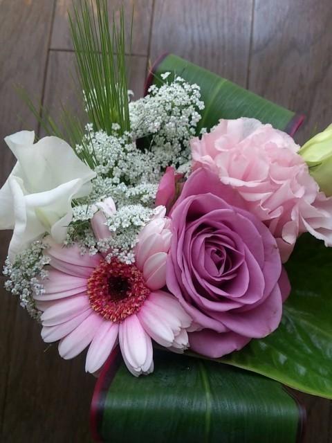 卒団式・卒部式花束