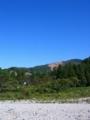 今日の新潟県南魚沼市は秋晴れです