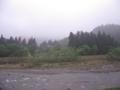新潟県南魚沼市雨ですが過ごしやすい朝です