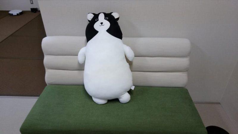 鍼灸院くらさろのマスコットキャラクター「くろちゃん」