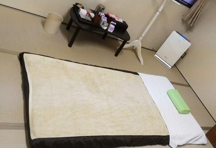 和モダン空間鍼灸院くらさろ個室