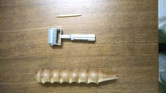 てい針・ローラー針。鍼灸院くらさろで使う小児針