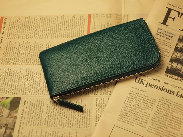 グリーン・緑の財布