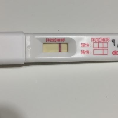 ドゥーテスト妊娠検査薬、真っ白の陰性