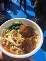 台湾フェスのニューロー麺