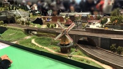 鉄道博のジオラマ2