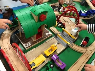 鉄道博のブリオのキッズプレイエリア3