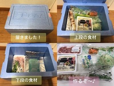 ヨシケイで届けられた食味