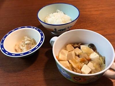 ヨシケイカットミールの離乳食完了期食