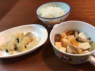 ヨシケイカットミールの幼児食