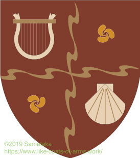 harp & scallop