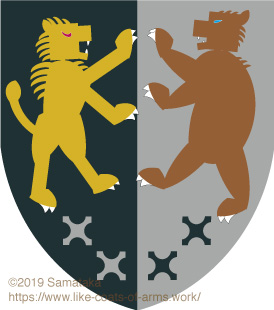 lion & bear