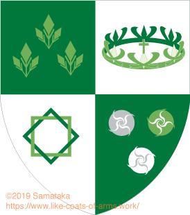 green coronet