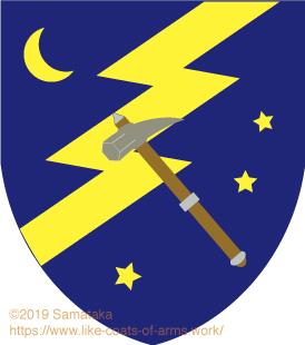 thunderbolt & hammer