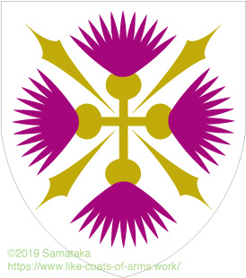 thistle cross