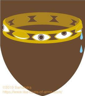 coronet of many eyes