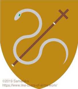 snake & crosier