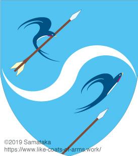 swallows dodging arrows