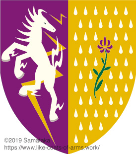 lightning horse brings rain