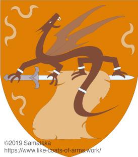 dragon,sword,parchment