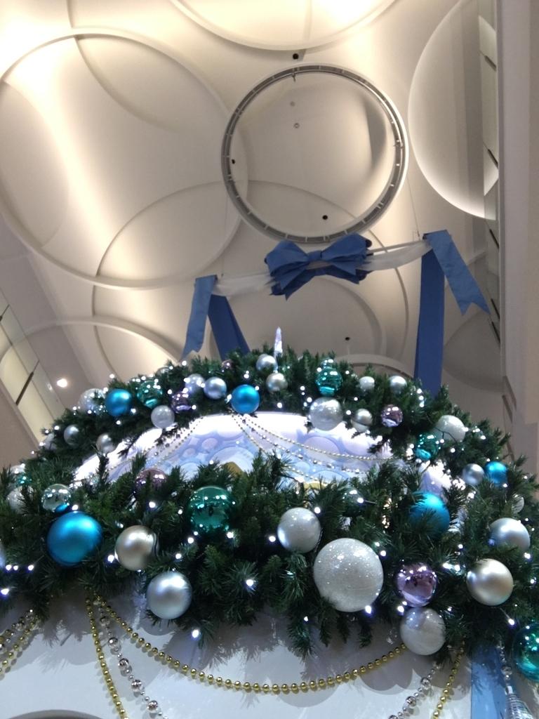 ブルーのクリスマスツリー