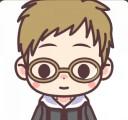 眼鏡をかけた男の子のアイコン