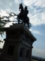 銅像かっこ良い!!