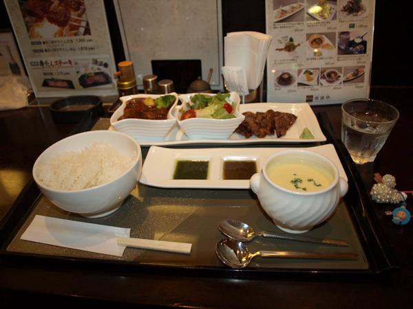 6日夕飯。牛タン!青葉亭!!