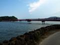 橋はかなり長いけど、眺めが最高。