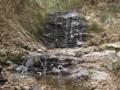 タイラ沢の大滝(2012年1月15日)
