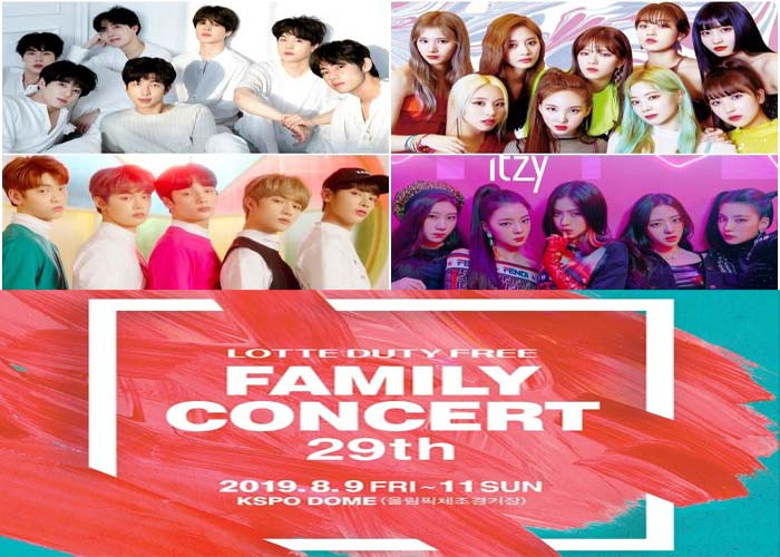 LIVE | Lotte Duty Free Family Concert 2019 at KSPO Dome