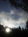 四條畷の朝陽