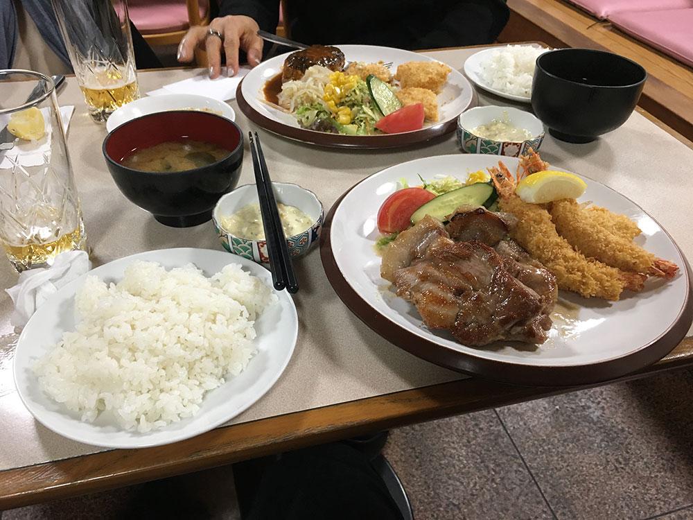 高津 ユニオン 料理